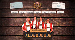 Preview of alderbuebe.ch