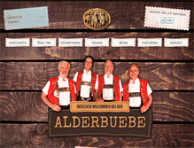 Tablet Preview of alderbuebe.ch